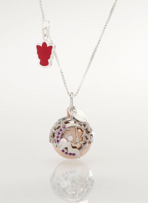 Collezione Diadema ciondolo Dolce Luna con collana