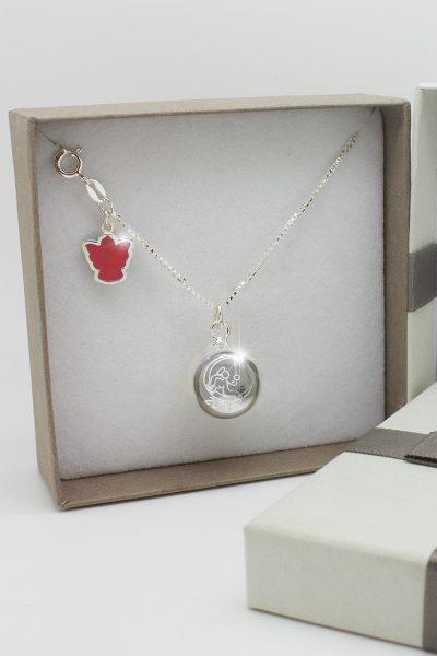 Ciondolo Dolce Luna collezione classica con collana lunga