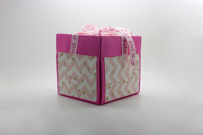 confezione regalo baby shower bambina