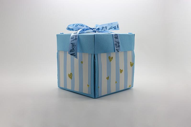 confezione regalo baby shower bambino