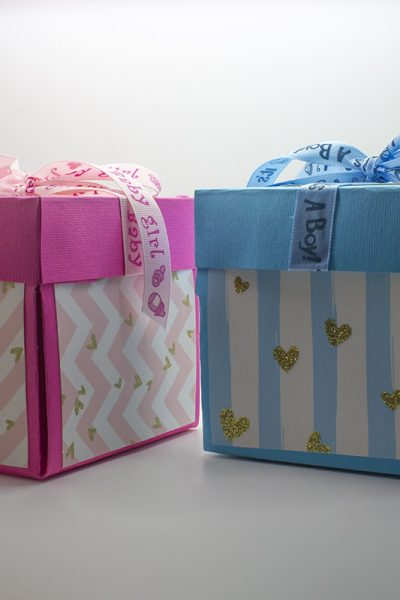 confezioni regalo baby shower
