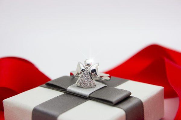 anello regolabile angelo custode