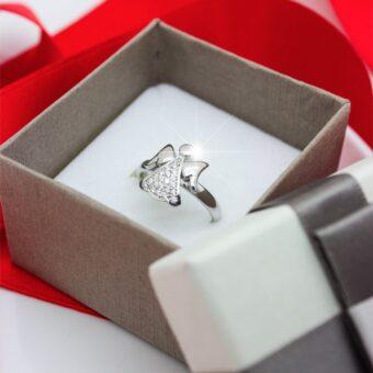 anello angelo custode argento 925