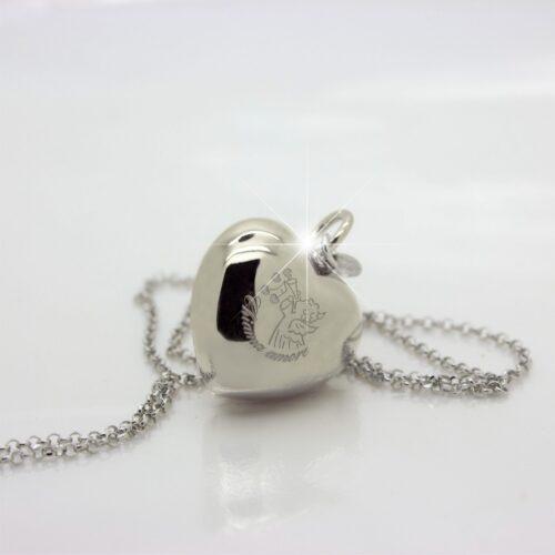 collana chiama amore in argento