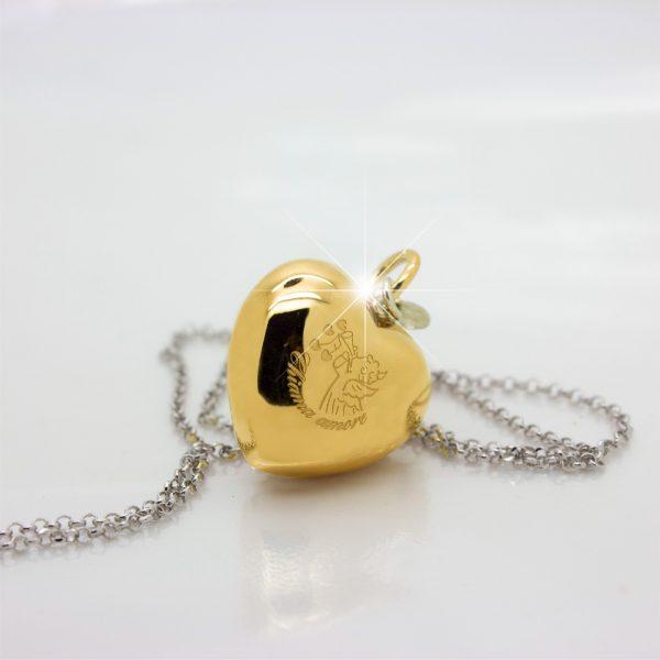 chiama amore in oro giallo originale