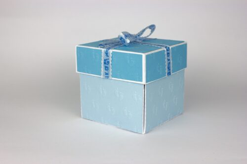explosion box chiama angeli bambino